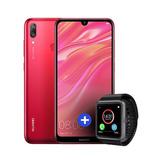 Nuevo Huawei Y7 2019 3gb 32gb + Smartwatch Gtia Oficial