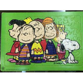 Quebra-cabeça Do Snoopy - Importado Anos 70 - Coleção