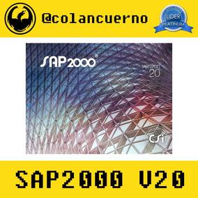 Sap2000 V20.0.0 Licencia Hasta Octubre 2019 + Manual De Uso