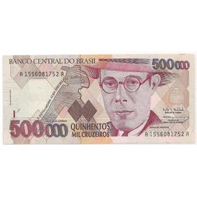 Cédulas 500.000 Cruzeiros Fe
