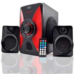 Sistema Som Home Theater 2.1 Bluetooth 1000w Mp3 Fm Pc Tv