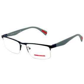 5af8528b38d07 Oculos Prada Linea Rossa Ps 01 - Óculos no Mercado Livre Brasil