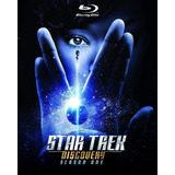 Blu Ray Star Trek Discovery - 1ª Temporada - C/luva. Novo