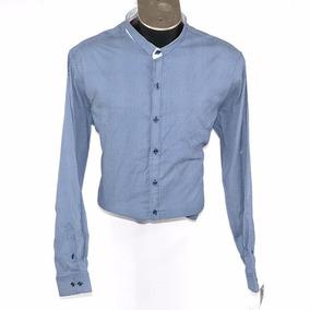 Stone Rose Camisa Azul Estampada Circulos Xxl Msrp  2800 d3c3fa30f1d5e
