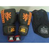 Luvas De Muay Thai E Bandagem