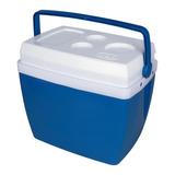 Caixa Termica Mor Azul 26 Litros
