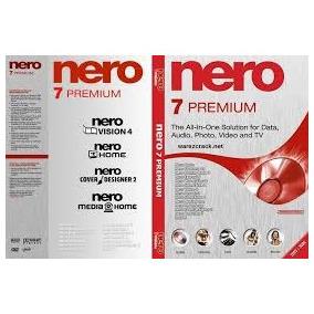 Gravador De Cd / Dvd Nero 7 Premium Ptbr Com Chave