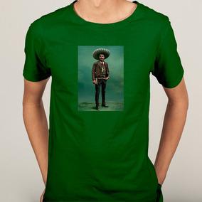 Camisa Emiliano Zapata Salazar Revolução Zapatista - 6 Cores