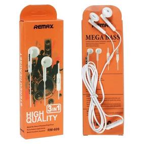 Audifonos 3 En 1 Manos Libres Remax Rm-609 Nuevos