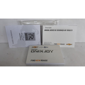 Manual Proprietario Onix Joy 2017/18 Original Em Branco