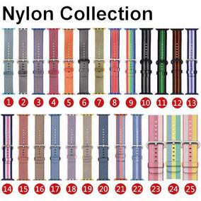 Correas Extensibles Para Apple Watch Nylon, 38/42mm