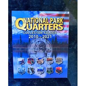Quarter Dollar Nationalparks 2010/21 Completo Ate 2017 Fc