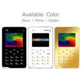 Aiek V5 Quad Banda Tarjeta Teléfono Bluetooth 3,0 Fm Celular
