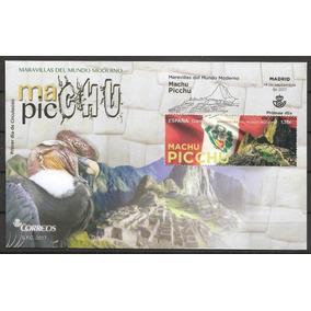 # Mcn # Espanha 2017 - Machu Picchu - Fdc Novo