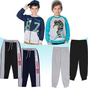 Roupa Infantil Menino Kit 6 Peças Jaqueta Blusão E Calças 6feb0c610b2