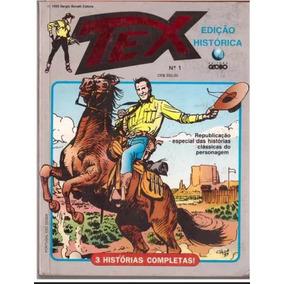 Tex Edição Histórica N° 1 A 17 Ed. Globo