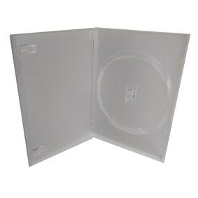 100 Estojo Capa Box Dvd Transparente 2linha(max 300 P Envio)