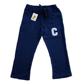 Pantalon Buzo Azul Niño