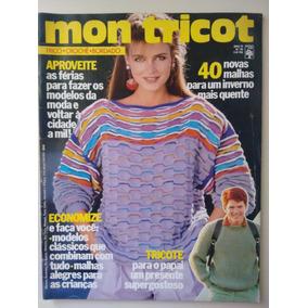 Revista Mon Tricot Coleção Outono Inverno Abril 1995 - Revistas de ... 6e4775546e7