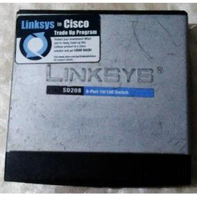 Switch Linksys To Cisco Sd208 8 Puertos 10/100