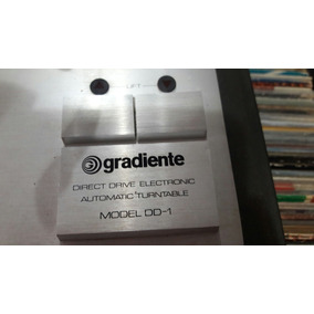Toca Disco Dd1 Gradiente + 20 Discos Promoção