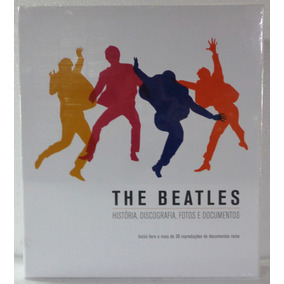 The Beatles Livro Memorabilia Lacrado Pronta Entrega