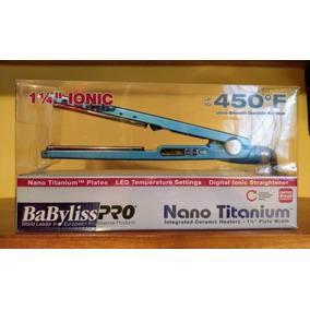 Plancha Original Babyliss Pro Nano Titanium 1 Año Garantia