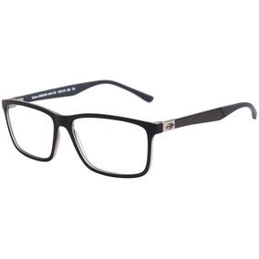 8fbbd2ddd9863 Óculos De Grau Mormaii Mo 1519 Preto Fosco Lente 5,2 Cm - Óculos em ...