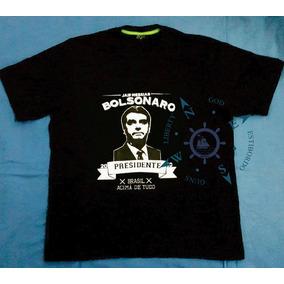 Camiseta Bolsonaro - Exclusiva Algodão