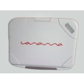 Mini Laptop Lenovo C-a-n-a-i-m-a Letras Rojas