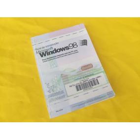 Manual Original Windows 98 - Microsoft - Em Português