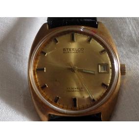 Reloj Steelco Automático Vintage 17 Joyas