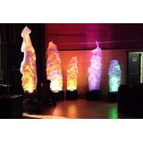 Flama Luces Led De Tela Hasta 1.80 Mt Dmx Decoracion Eventos