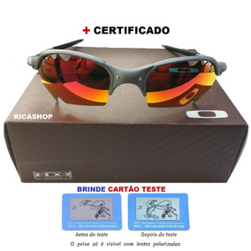 898f049449a5f Oculos Oakley Parriot Ruby Red +certificado+teste Lente
