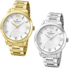 8400886ac92 Relogio Feminino Dourado Grande Modelo - Relógios De Pulso no ...