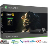 Xbox One X 1tb + 1 Jg Triple A+ 7 Jgs Digitales + Financiam