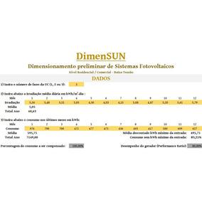 Dimensun: Dimensione Seu Gerador Solar (aberta/editável)