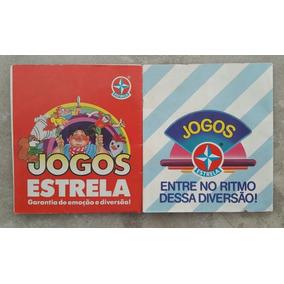 Lote 2 Catálogos - Jogos Estrela - Brinquedos - Anos 1980