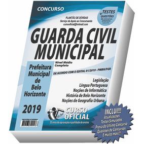 Apostila Guarda Municipal - Belo Horizonte - Frete Grátis !