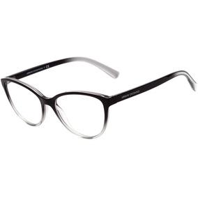 3a42abd5f Armacao Oculos De Grau Transparente Armani - Óculos no Mercado Livre ...