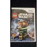 Star Wars 3 Lego Nintendo Wii Y Wiiu