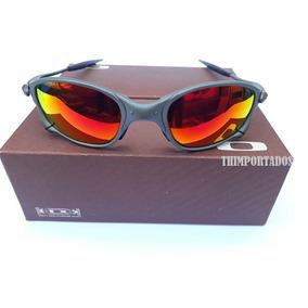 X Squared Cromado Lente Vermelha De Sol Oakley - Óculos no Mercado ... 71fe330e1b