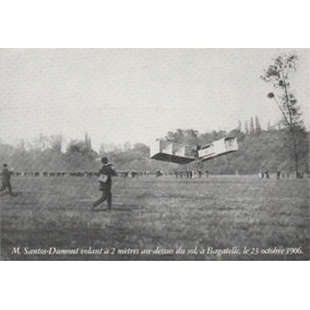 Cartão Postal Avião 14bis De Santos Dumont