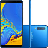 Samsung Galaxy A7 64gb A750 Dual 3 Câm 1 Ano Garantia + Nf