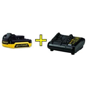 Cargador + Bateria Stanley 12v Ion Litio 1.5ah