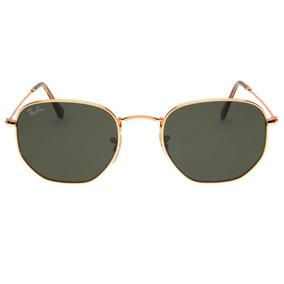 6ca354b44f284 Oculos Rayban Hexagonal - Óculos De Sol no Mercado Livre Brasil
