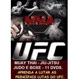 Curso De Jiu-jitsu Muay Thai Boxe E Judo Aulas Em 11 Dvds A7