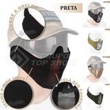 91d697fd1bd43 Mascara De Proteção Gradeada Meia Face (preta) - Tudo para Paintball ...