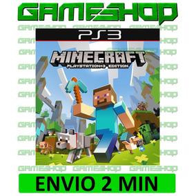 Minecraft Psn Ps3 Cod Original Play 3