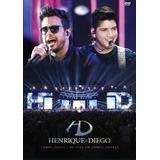 Dvd Henrique & Diego - Tempo Certo Ao Vivo Em Campo Grande